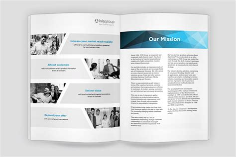 25 Really Beautiful Brochure Designs Templates For Inspiration Corporate Brochure Design Templates