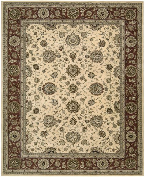 Nourison Area Rugs Nourison 2000 2204 Ivory Traditional Area Rug Carpetmart