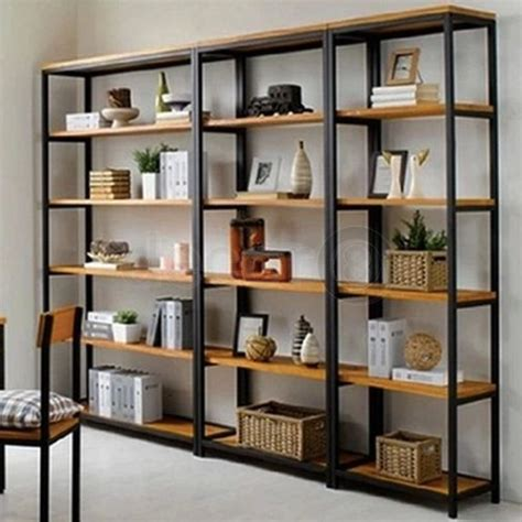 wooden book shelves best 25 industrial bookshelf ideas on pipe