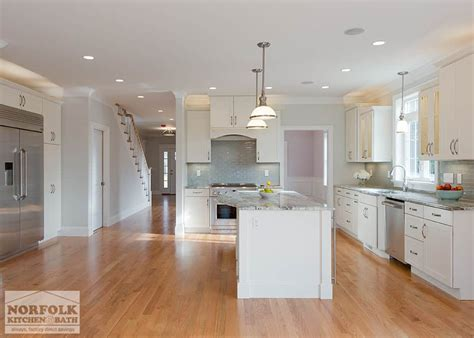 Norfolk Kitchen Cabinets by New Kitchen Construction In Bedford Ma Norfolk Kitchen