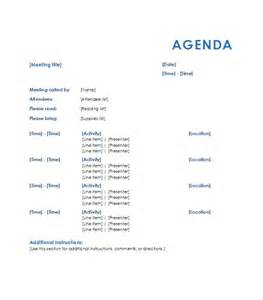 Template Of An Agenda by 46 Effective Meeting Agenda Templates Template Lab