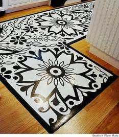 Vinyl Floor Mats For Home Painted Vinyl Floor Mat Tutorial Memes
