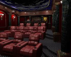 home theater interior room for 3d home theater studio design gallery