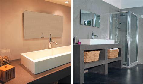 Beton Mineral Dusche fugenlose designer spachtelmasse beton mineral resinence