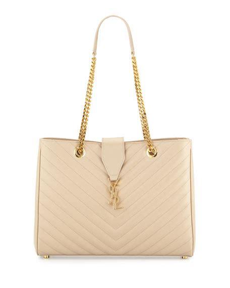 saint laurent monogram matelasse large shopper bag