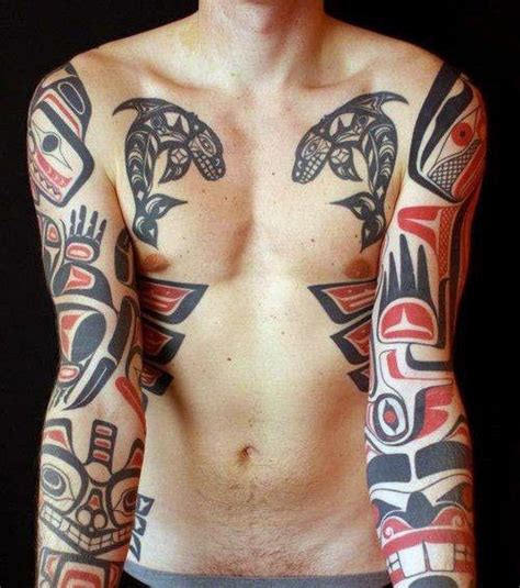 native american tribal tattoos for men 70 haida designs for tribal ink ideas haida