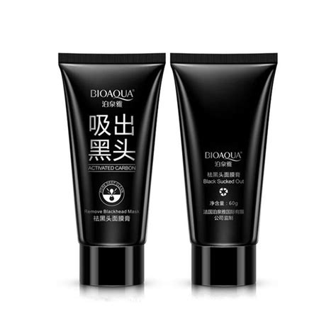 bioaqua brand care suction black mask mask