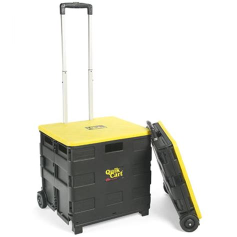 rollen wagen quik cart two wheeled collapsible handcart