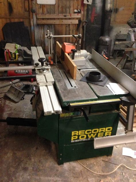 record power table sawplaner thicknesserspindle moulder