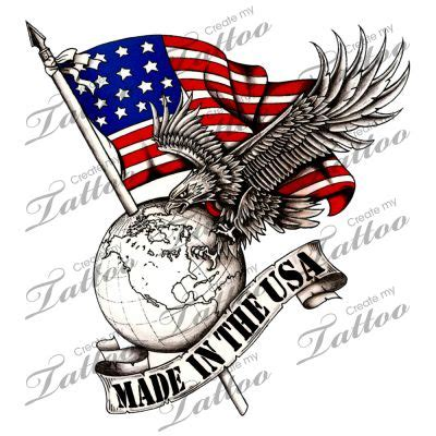 made in the usa tattoo best 25 usa ideas on skyline