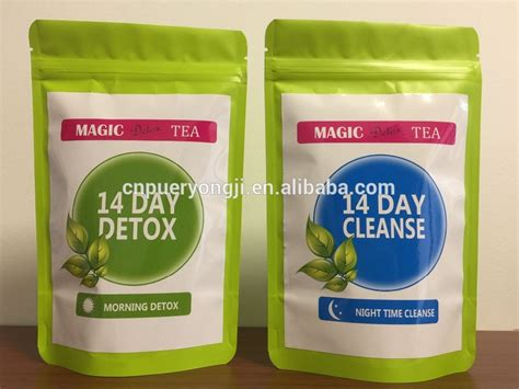 White Label Detox Tea by Customized Usfda Approved Skinnymint Teatox 14 Day