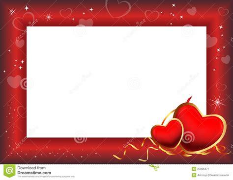 valentines day photo frame day frame stock illustration illustration of