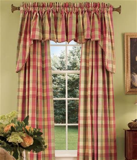 curtain toppers ideas curtain topper ideas window toppers moire plaid princess