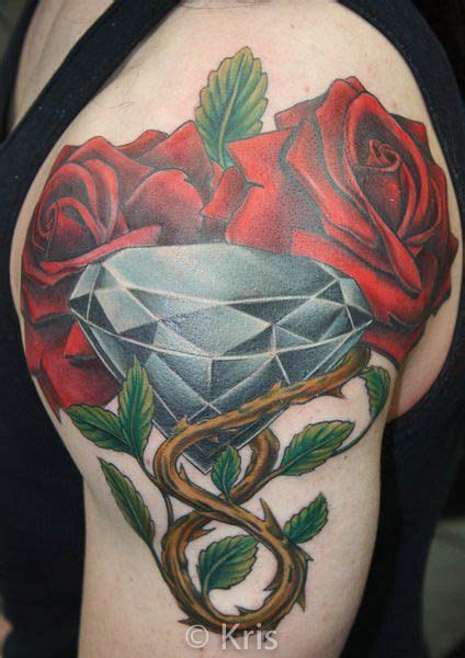 chicago tattoo and piercing roses and by professional tattooist kris