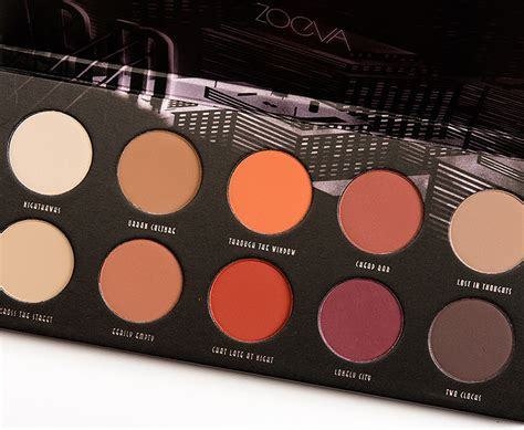 Review Eyeshadow Viva Matte zoeva matte eyeshadow palette review photos swatches