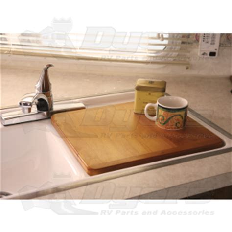 sink cover cutting board camco oak sink cover and cutting board kitchen