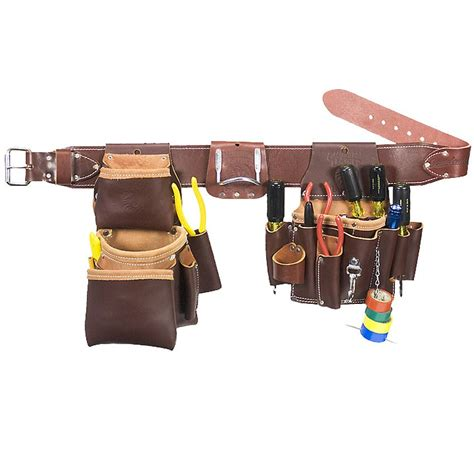 tool belt setup occidental leather 5036l leather pro electrician set tool be