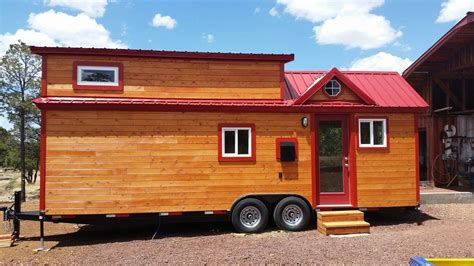 debbie tiny house is finished tiny treasure homes