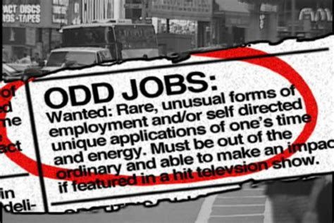 strangest jobs   knew existed lifedaily