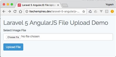 angularjs tutorial git laravel 5 angularjs file upload tutorial default screen