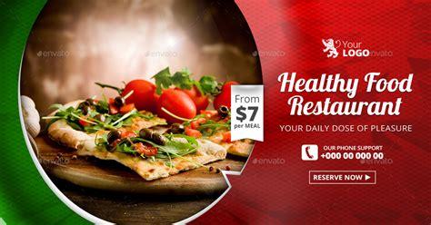 design banner restaurant food restaurant web facebook banners by belegija