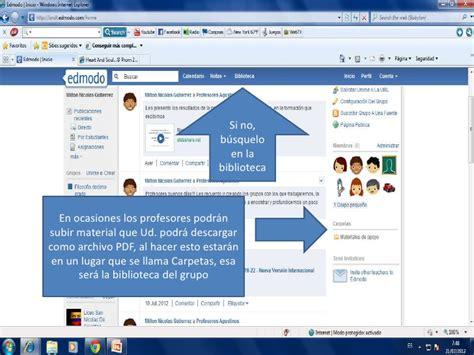 tutorial edmodo español pdf tutorial para ingresar a edmodo
