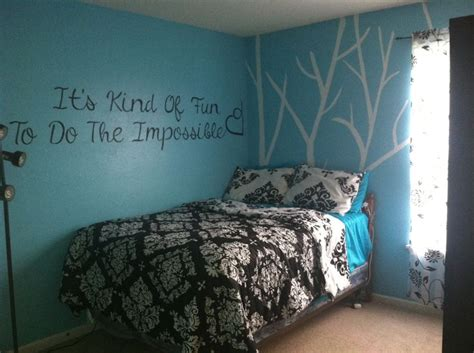 teal black and white bedroom black and teal bedroom completed pinterest projects