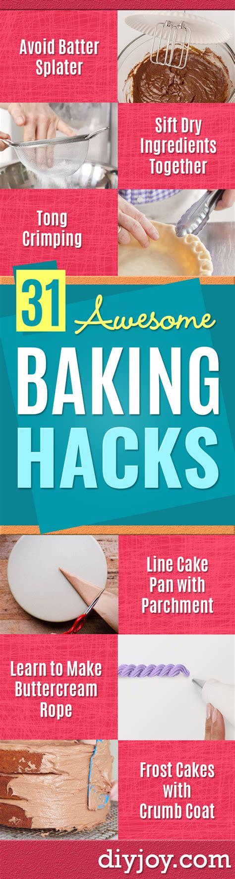 baking hacks 31 baking hacks you ve needed all your life