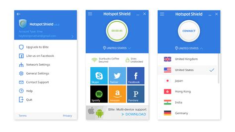 android hotspot app introducing the new android windows hotspot shield apps