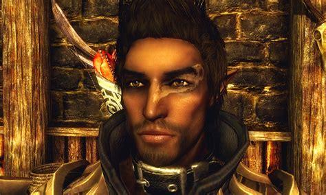 skyrim nexus better males mod auveren wood elf male follower and preset at skyrim