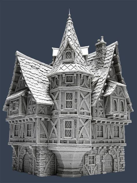 great medieval house plan miniatures pinterest 1000 images about mordheim inspiration on pinterest