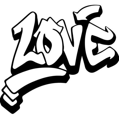 sticker graffiti sticker graffiti love ambiance