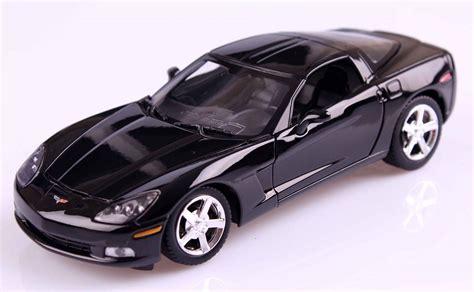 2005 corvette models 1 24 2005 corvette c6 siyah model araba