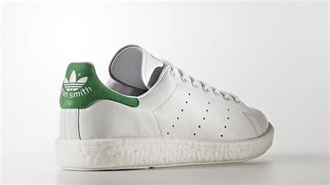 Adidas Stan Smith For 4 adidas stan smith boost white green the sole supplier
