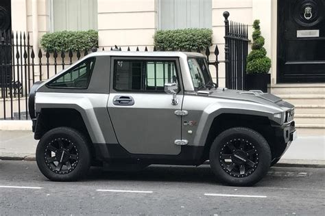 Hummer Jeep The Hummer Hx Electric Car Is The Revival Of The Hummer