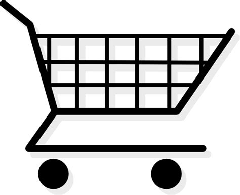 shopping cart clip art at clker com vector clip art