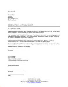 Business Letter For Job Sample A Letter For Employment Business Proposal Templated
