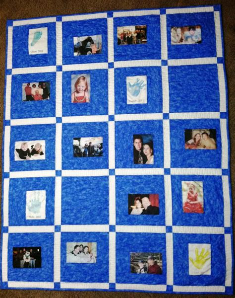 Custom Photo Quilts by Custom Memory Quilts Photo Quilts