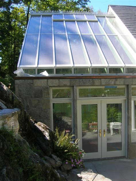 Interior And Exterior Home Design gable conservatory roof system glass house llc