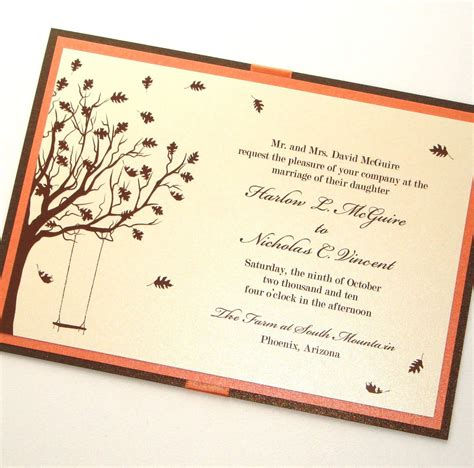 Wedding Quotes For Invitations by Fall Wedding Invitation Quotes Invitation Templates