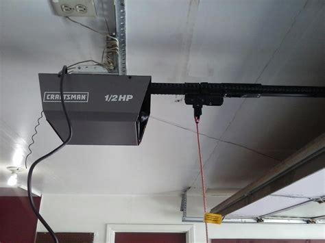 new liftmaster garage door opener installation