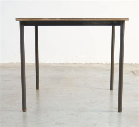 Square Industrial Coffee Table For Sale At Pamono Square Industrial Coffee Table