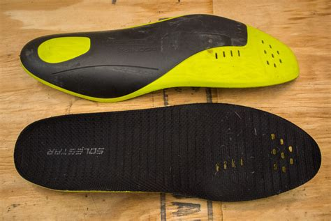 bike shoe insoles upgrade your shoes with ergon ip3 solestar insoles