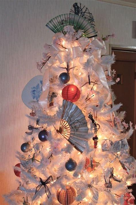 ten asian inspired christmas trees tis the season