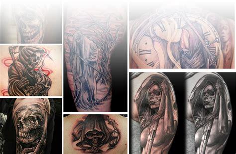 tattoo meaning grim reaper grim reaper tattoos designs meanings inkdoneright com