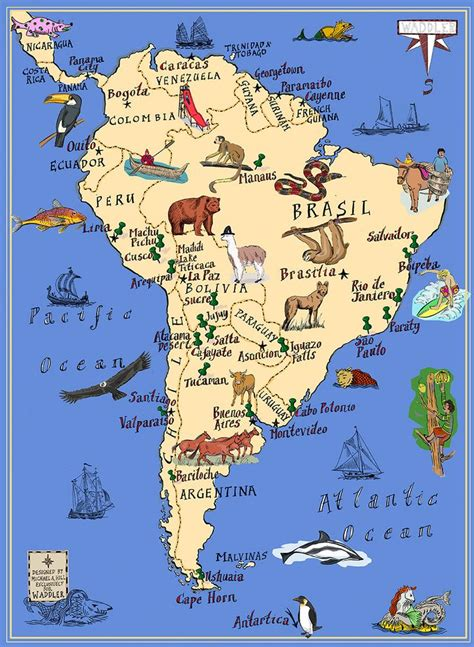 travels with in search of south america books best 20 south america map ideas on world