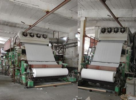 small waste paper recycling 787mm toilet paper line