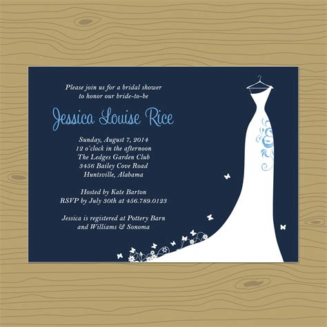 free printable bridal shower invitations theme card template blank invitation templates free for word