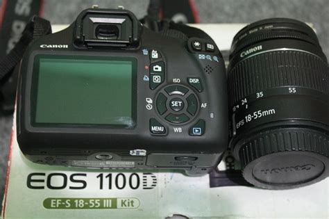 Kamera Canon Eos 1100d Kit 18 55mm jual kamera dslr canon eos 1100d kit 18 55mm is 3