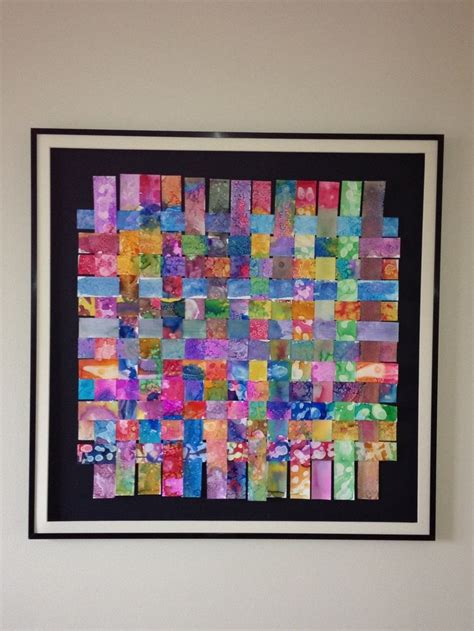 5th grade craft projects 5th grade jpiia class auction project quot woven friendships